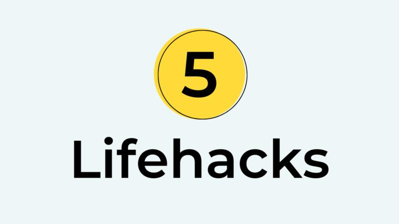 Lifehacks voor de zzp'er