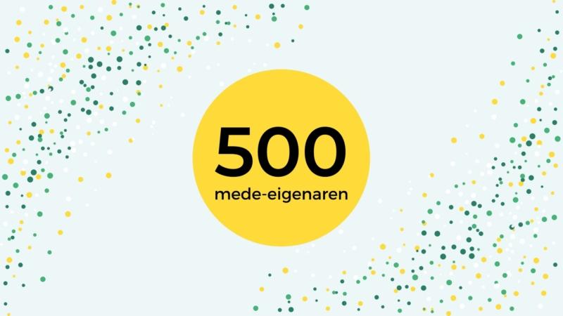 500 eigenaren