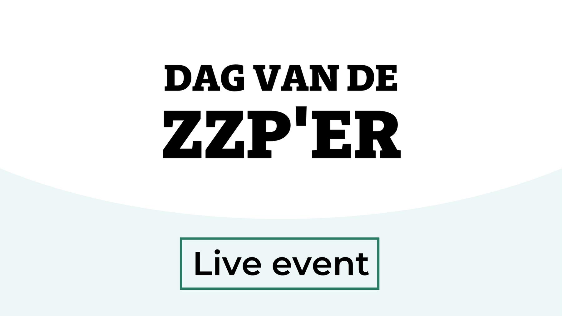 Live event: Dag van de ZZP'er